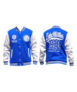 Zeta Phi Beta fleece Jacket Zeta Phi Beta Varsi... - $62.69