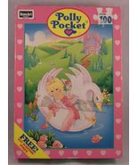 Vintage 1994 Polly Pocket RoseArt 100-pc Puzzle... - $6.00