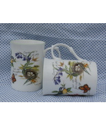 2 Rose of England Fine Bone China Coffee Cups, ... - $14.99