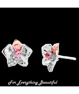 Orchid Pink White Sapphire Welsh Rose Gold Deta... - $380.00