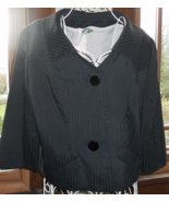 vintage Vogues Vanities BLACK suit BLAZER jacke... - $40.00