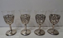 DS Triangle Mark Silver Plate Antique Filigree ... - $54.45