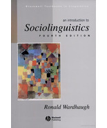 An Introduction to Sociolinguistics, 4th ed by ... - $8.00