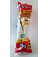 NEW Sealed in Pkg PEZ Snowman Dispenser & Candy... - $5.93