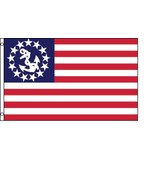 US Yacht Ensign Flag 3 x 5 Ft Boat Nautical USA... - $7.91