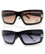 DG Eyewear Womens Rimless Shield Sunglasses Chi... - $12.95