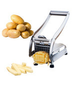 Stainless Steel French Fry Cutter Potato Cutter... - $19.97