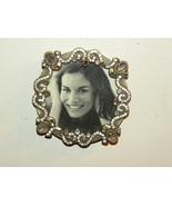 Refrigerator Magnet Mini Picture Frame Metal Rh... - $18.00