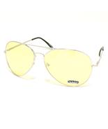 FASHION Aviator Classic Sunglasses SILVER Frame... - $9.95