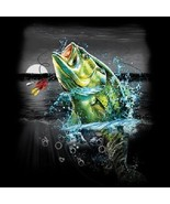 Bass  Wilderness Fishing  Tshirt   Sizes/Colors - $12.82 - $16.78
