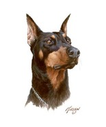 Doberman Pinscher  Dog  Tshirt    Sizes/Colors - $12.82 - $16.78