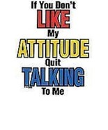 If You Don't Like My Attitude..  Tshirt    Size... - $11.83 - $15.79
