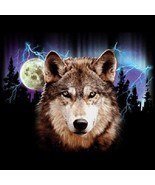 Night Hunt  Wolf  Hoodie   Sizes/Colors - $24.70 - $30.64
