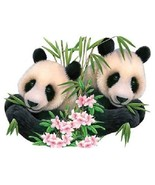 Panda Pair Panda Bear  Hoodie Sizes/Colors - $24.70 - $32.62