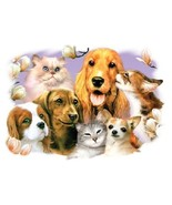 Pet Party 3   Dogs and Cats Tshirt  Sizes/Colors - $10.84 - $14.80