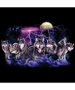 Wolf Lightning New Wolf  Tshirt    Sizes/Colors - $12.82 - $16.78