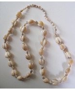 "1970s Authentic Hawaiian Puka 33"" Necklace Cowr... - $15.83"