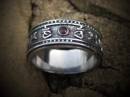Haunted ring Solomon Hessa Hibah djinn of DESTI... - $160.00