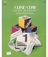 Bastien Piano Basics A Line A Day Sightreading ... - $5.45
