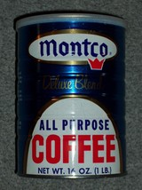 Vintage Early 1970s MONTCO 1 Pound Size All Pur... - $27.15