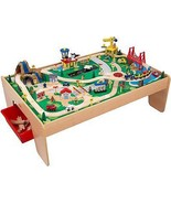 KidKraft Waterfall Mountain Train Table Set Woo... - $182.11