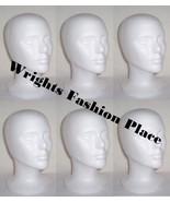Styrofoam Wig Head Mannequin Hat Craft Display (6) - $32.99