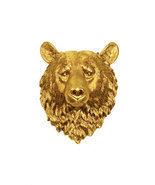 The Honey - Gold Resin Bear Head - Resin White ... - $94.99