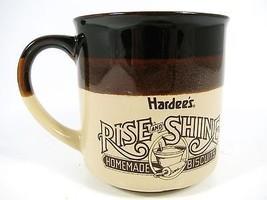 Hardee's Rise and Shine Collector Coffee Mug Cu... - $9.89