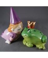 Princess and FrogPorcelain Salt and Pepper Shak... - $14.99