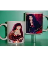 Cher 2 Photo Designer Collectible Mug - $14.95