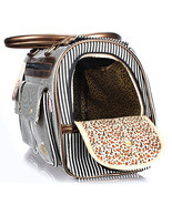 New Fashion Stripe Puppy Dog Cat Pet Carrier To... - $43.97