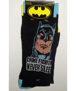 NEW Batman Socks TWO PACK 2 pair CRIME FIGHTERS... - $10.26