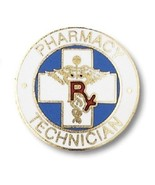 Pharmacy Technician Lapel Pin RX Caduceus Tech ... - $9.97