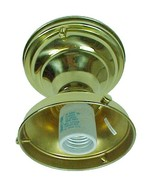 Ceiling Light Fixture Solid Brass 4 in Shade Ho... - $46.95