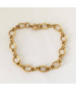 Vintage 1/20 12K GF Link Chain Bracelet 7 1/2''... - $40.00
