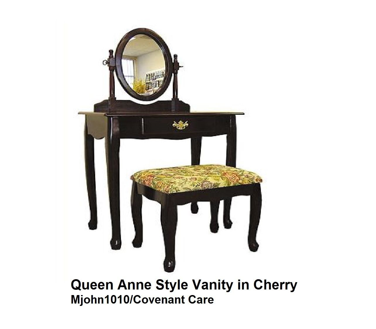 Vanity Set With Stool And Lighted Mirror Home Decor