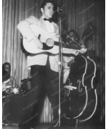 Elvis Performing With His Band Vintage 8x10 Rep... - $19.99