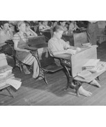 Barefoot Students Vintage School Desk 8x10 Repr... - $19.99