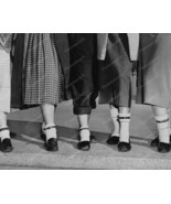 Girls Posing With Sock Belts 8x10 Reprint Of Ol... - $19.99