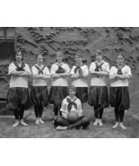 Girls Basketball Team 1916 Vintage 8x10 Reprint... - $19.99