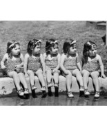 Dionne Quintuplets Cute In Swimsuits! 8x10 Repr... - $19.99