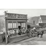 Family Butcher Shop 1890 Vintage 8x10 Reprint O... - $19.99