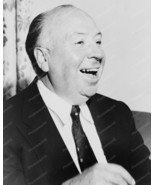 Alfred Hitchcock Laughing Candid 1950s 8x10 Rep... - $19.99