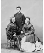Colonel George Custer Family Portrait 1800s 8x1... - $19.99