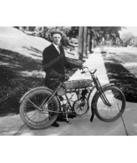 Harley Davidson Motorcycle Very Early Bike Vint... - $19.99