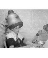 Dome Hair Dryer 1942 Vintage 8x10 Reprint Of Ol... - $19.99