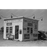 Hamburger Stand Coke Signs Texas 1930s 8x10 Rep... - $19.99