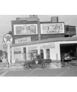 Indian Trails Texaco Gas Station 1940 Vintage 8... - $19.99