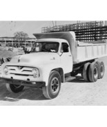Ford 1955 Dump Truck 8 x10 Old Photo - $19.99