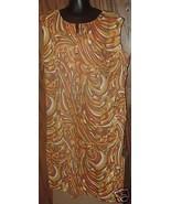 Vtg 60s Hippie Colorful psychedelic MOD Dress P... - $74.99